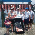 snapper fishing packages orange beach al
