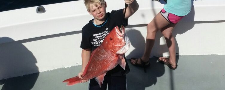 snapper fishing charters orange beach