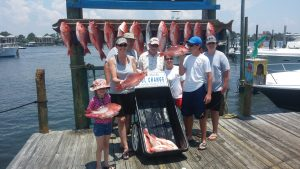 snapper fishing packages orange beach al